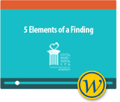 Yellowbook CPE Webinar: 5 Elements of a Finding